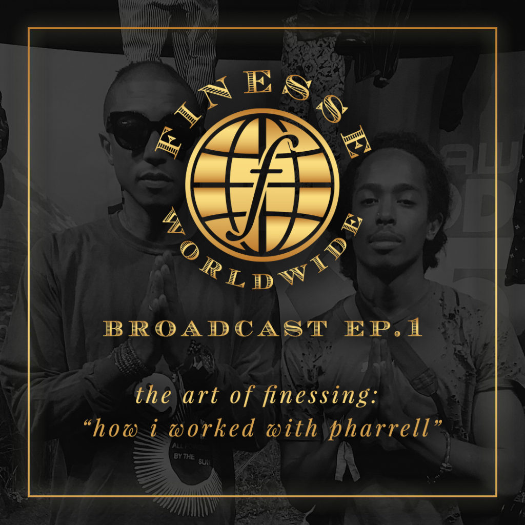 "<a href=""http://bit.ly/howiworkedwithpharrell""> ffinesse worldwide broadcast ep. 1</a>"
